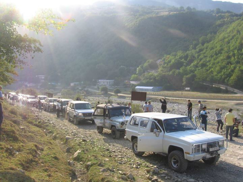 Off-road Tour In Azerbaijan